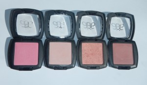 Arbonne Blushes - Review and Swatches