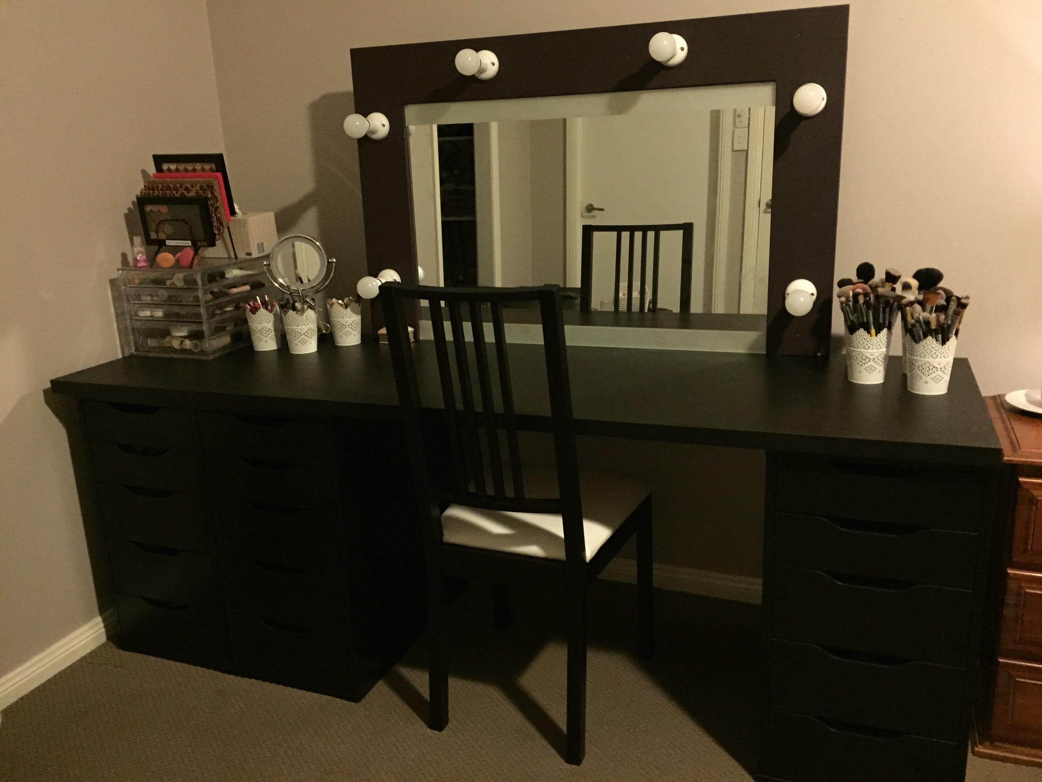 My New Makeup Vanity A Beauty Obsession